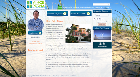 Vince Perna – Folly Beach Real Estate